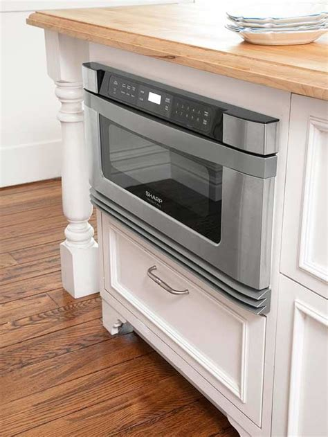 kitchen island with microwave drawer convection cooking islands and ovens on pinterest