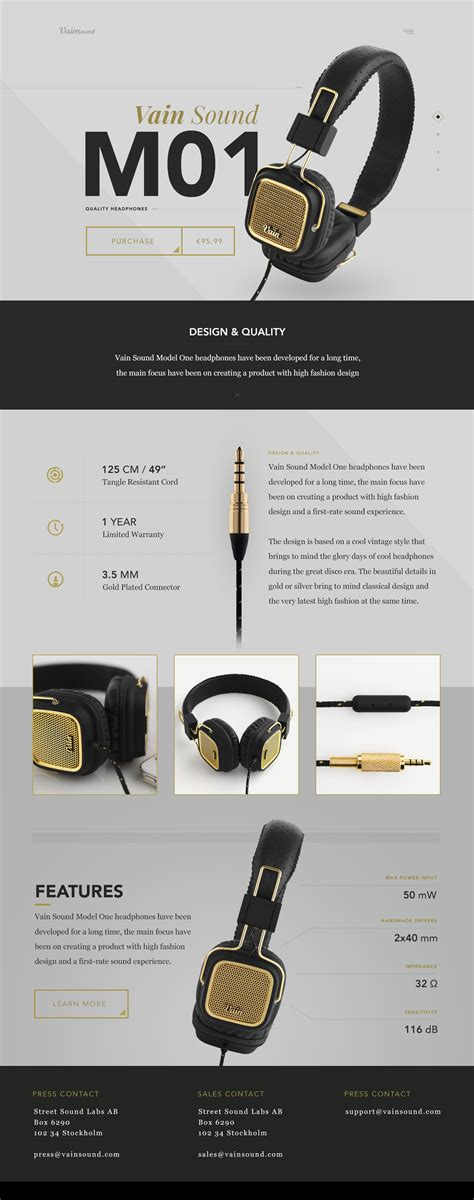 product layout design inspiration web design inspiration product pages web design ledger