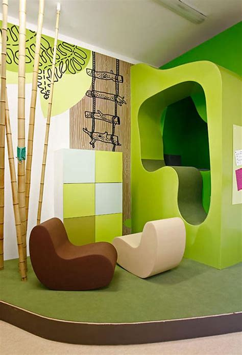 home interior kids green kids room with bright color theme kid stuff