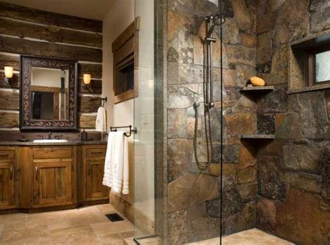 Cabin Bathrooms Ideas by Best 25 Log Cabin Bathrooms Ideas On
