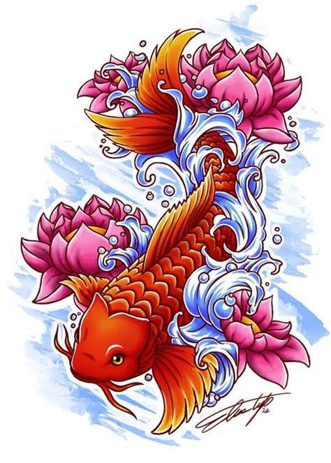 koi lotus tattoo designs koi ideas and koi designs page 21