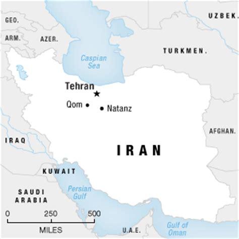 qom iran map iran admits new nuclear facility npr
