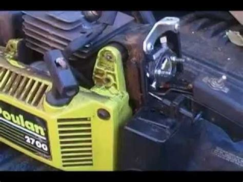 how to poulan chainsaw replace fuel lines youtube