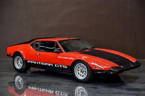 de tomaso 1971 de tomaso pantera gts gosford car museum by