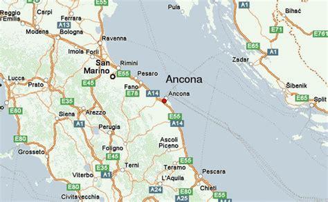 map of ancona italy ancona location guide