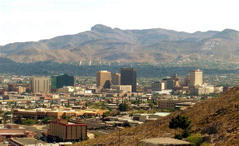 El Paso Records File El Paso Skyline2 Jpg Wikimedia Commons