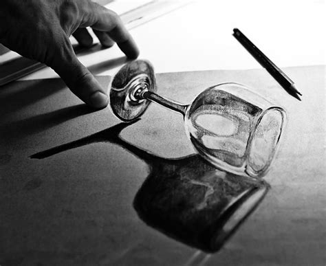 Best Pencil Drawings 33 Of The Best 3d Pencil Drawings Bored Panda