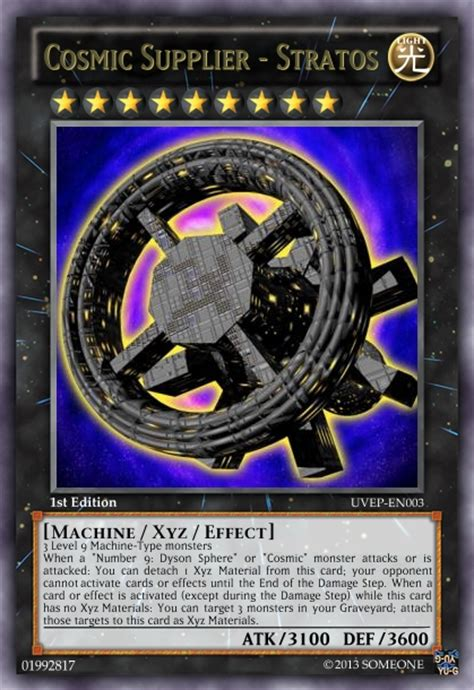 yugioh dyson sphere deck someone they came from outer space updating