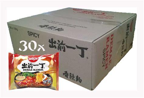 Emaku Korean Spicy Noodle Samyang 60gr ramen spicy nissin 30 x 100gr