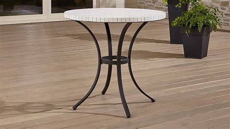 Crate And Barrel Bistro Table Mosaic Bistro Table Crate And Barrel