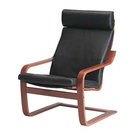 poang chair laptop desk best 25 ikea leather chair ideas on cow hide