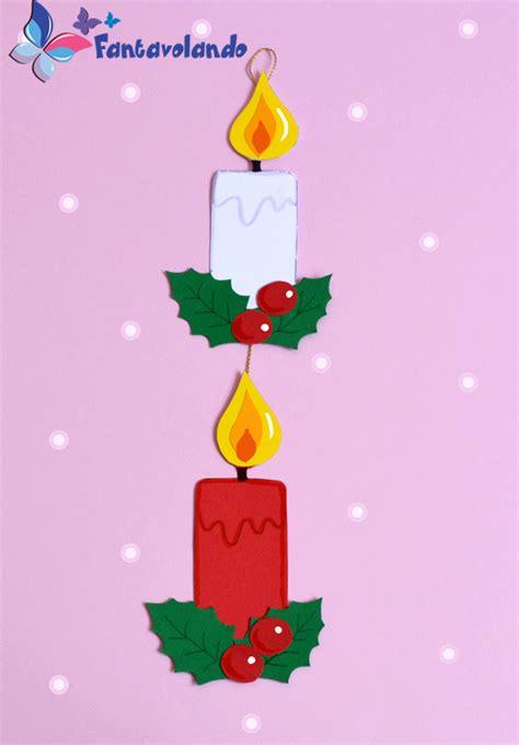 realizzare candele candele di cartoncino fantavolando
