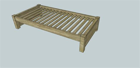 platform bed plans twin plans diy   pergola