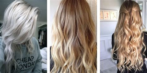 putting silver on brown hair 24 fabulous blonde hair color shades how to go blonde