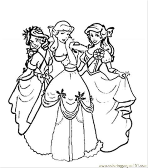 coloring pages christmas disney princesses cartoons