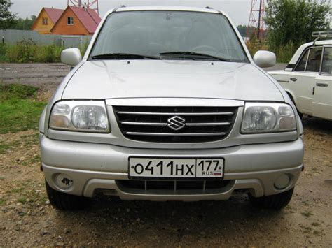 Suzuki Grand Vitara 2002 For Sale 2002 Suzuki Grand Vitara Xl 7 For Sale 2700cc Gasoline