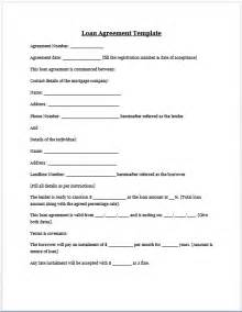financial loan agreement template free printable personal loan agreement form generic