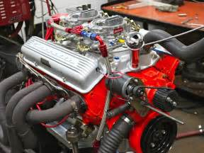inside a 327ci small block chevy recreated for a cheetah