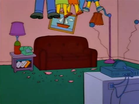 simpsons sitting on couch list of couch gags seasons 6 10 simpsons wiki