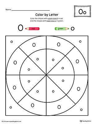 letter o worksheets uppercase letter o color by letter worksheet 1376