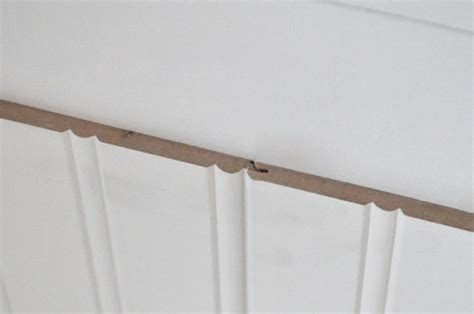 beadboard corner how to install beadboard wainscoting one project closer