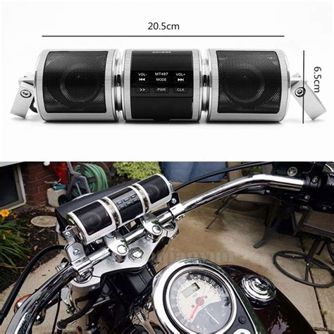 Bluetooth Motorrad by Bluetooth Motorrad Roller 22mm Lenker Lautsprecher Speaker