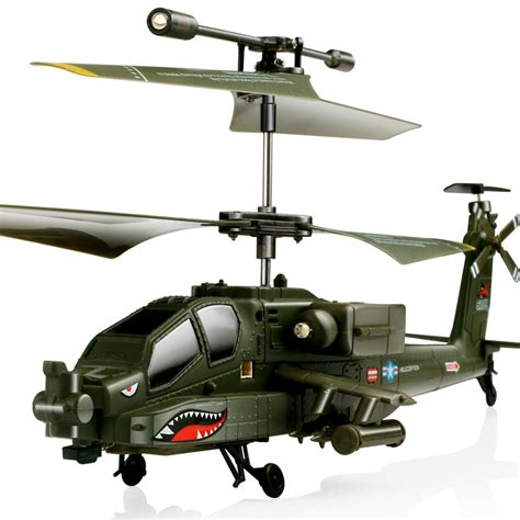 Helikopter Remote Syma Kualitas syma s109 3 5ch apache mini remote led light rc helicopter with gyro ebay