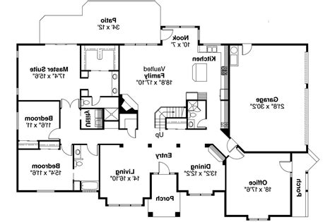 floor plans for house contemporary house plans ainsley 10 008 associated designs
