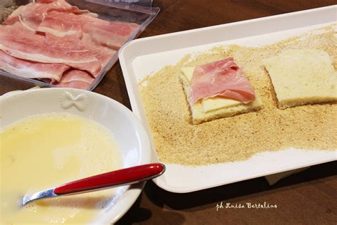mozzarella in carrozza in forno mozzarella in carrozza al forno la magica cucina di luisa