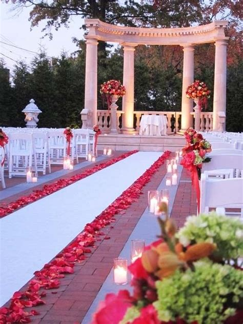 Wedding Aisle Runner Decorations by 25 Best Ideas About Petal Aisle On
