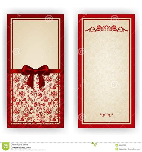 card vector template card invitation ideas templates of invitation cards