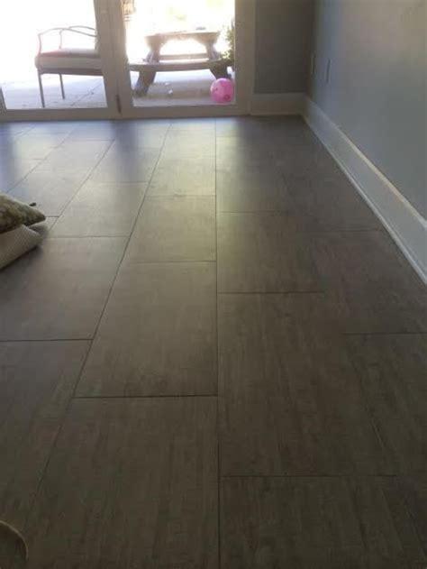 Ogden Flooring by 12 Quot X 24 Quot Porcelain Tile With 1 16 Quot Grout Lines On 30