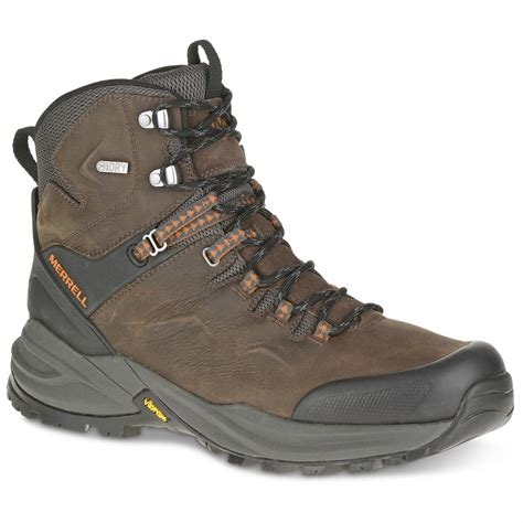 mens hiking boots merrell s phaserbound hiking boots waterproof