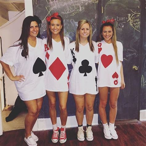 halloween group themes 2015 deck of cards let s play dress up pinterest decking