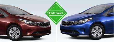 Kia Forte Colors 2017 Kia Forte Interior And Exterior Colors