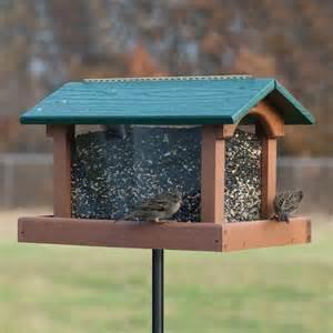 Hopper Bird Feeders Shop Woodlink Going Green Recycled Plastic Hopper Bird