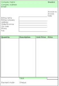 Simple Free Invoice Template Simple Invoice Template Invoice Templates