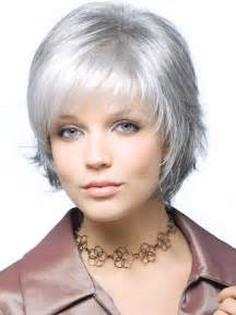 grey hair styles for 57 year celebrity hairstyle capless top grade synthetic sexy gray