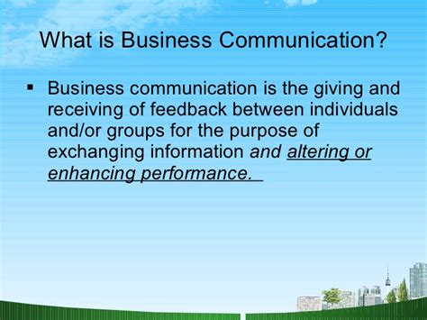 Mba In Communication And Media by Business Communication Ppt Bec Doms Mba