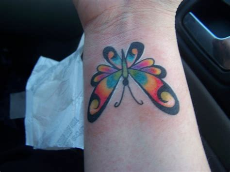 wrist butterfly tattoos only tattoos