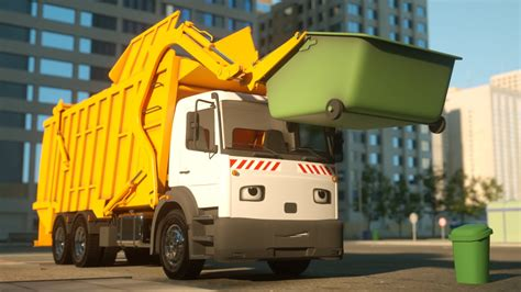 Garbage Truck by George The Garbage Truck Real City Heroes Rch