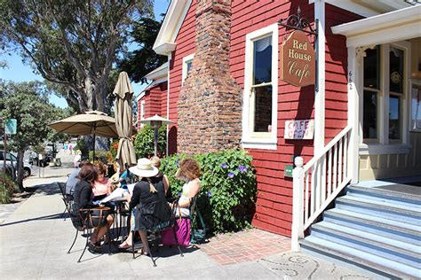 red house cafe red house cafe pacific grove ca california beaches