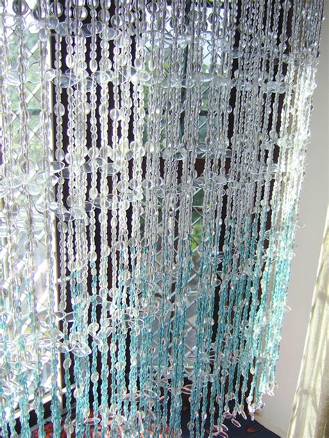 glass bead curtains white blue leaf bead curtain memories of a butterfly