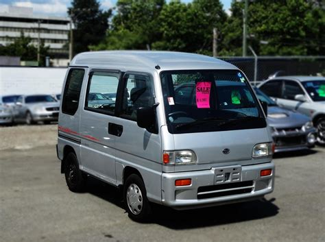subaru libero for sale 1995 subaru sambar dias for sale in vancouver bc canada