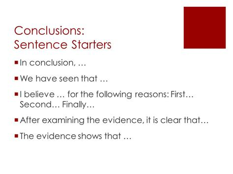 Conclusion For Essay by Persuasive Writing Ppt