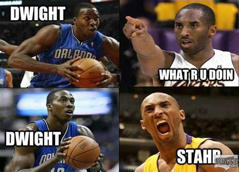 Dwight Howard Meme - dwight stahp meme
