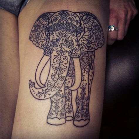 elephant tattoo japanese 45 elephant tattoos for thigh