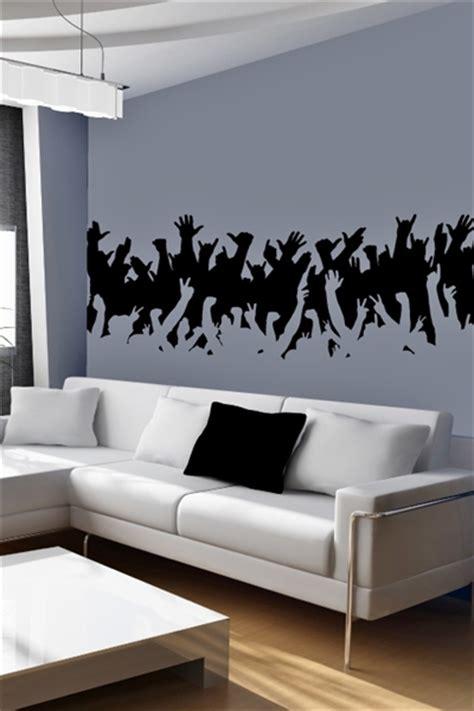 jazz group concert decal musicians wall decals home wall decals concert crowd walltat com art without boundaries
