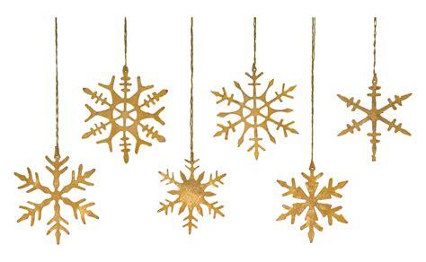 snowflakes ornaments gold snowflake ornaments jayson home