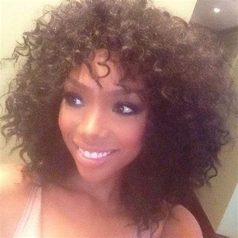brandy loves natural hair but says as an actress she has brandy norwood curly hair hairstylegalleries com